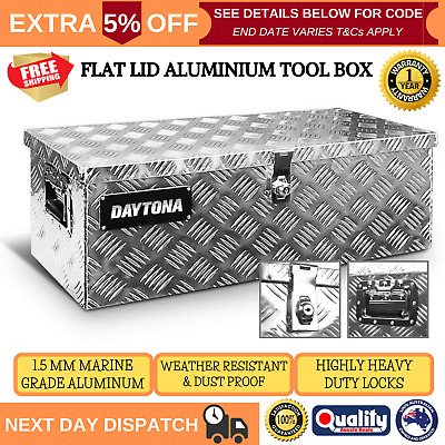 AU147.95 • Buy Aluminium Ute Tool Box Storage Truck Trailer Heavy Duty Lock Organiser Toolbox
