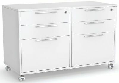 AU659 • Buy Axis White Mobile Caddy With 2 Set Of Drawers