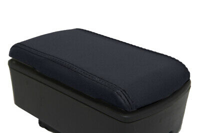 $23.39 • Buy Console Lid Armrest Cover PVC Leather For Nissan D22 Frontier 1999-2004 Black