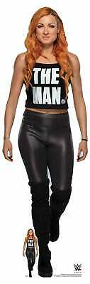 Becky Lynch 'The Man' WWE Official Lifesize Cardboard Cutout With FREE Mini • 36.25£