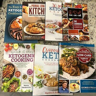 $80 • Buy Keto Cookbook Lot Of 7 $125 Value!! Like New!