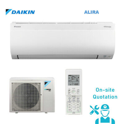 AU1 • Buy On-site Quotation - DAIKIN (Alira Series) 2.5kW Air Conditioner Split System
