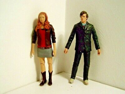 Doctor Dr Who Matt Smith Doctor  Figure & Amy Pond ((D4) • 15.99£