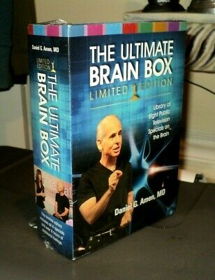 DR. DANIEL AMEN The Ultimate Brain (2013, 8 DVD) BRAND NEW: Limited Edition: PBS • 13.60£