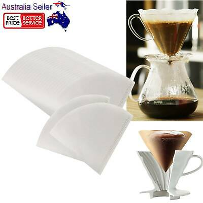 AU10.88 • Buy 40pcs V60 Paper Coffee Filters Coffee White Paper Filters AU