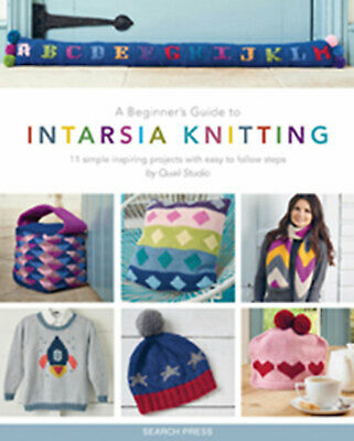 Quail Studio A Beginner's Guide To Intarsia Knitting Pattern Book • 11.99£