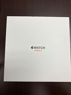 $ CDN351.91 • Buy Apple Watch Series 3 42mm Stainless Steel Case With Soft White Sport Band