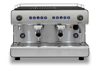 Iberital IB7 2 Group-  Tall Cup Alto Commercial Coffee Machine Barista 13amp • 1,899£