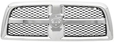 $209.89 • Buy NEW Chrome Grille For 2009-2012 Dodge Ram 1500 CH1200347 SHIPS TODAY