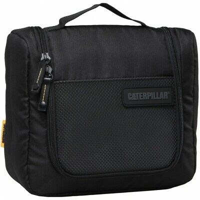 Caterpillar CAT Workwear Toilet Wash Bag - Black - New • 14.99£