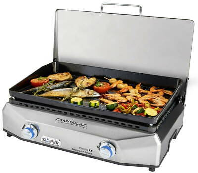 Campingaz Master Plancha LX Griddle Stove Table Top Gas Barbecue BBQ 3000004806 • 299.99£