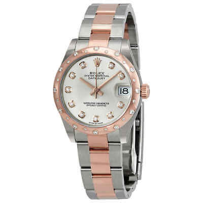 $ CDN20960.01 • Buy Rolex DateJust 31 Silver Diamond Dial Automatic Ladies Stainless Steel 18 Ct