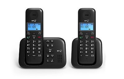 BT 3960 Twin Digital Cordless Telephone With Speaker Phone & Answering Machine • 26.94£