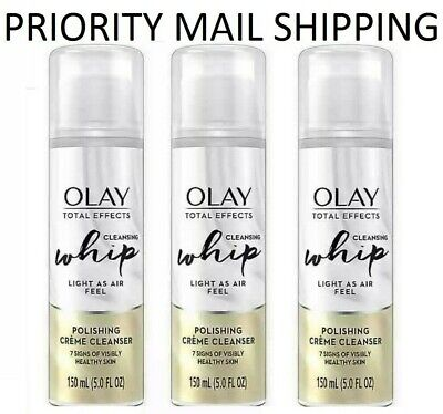 $19.95 • Buy (2 Pack) OLAY - Total Effects Cleansing Whip Polishing Creme Cleanser, 5 Oz