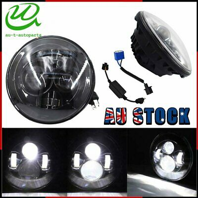 AU60.79 • Buy Motorcycle 7   LED Headlight Lamp Projector HiLo For Harley Davidson Ultra