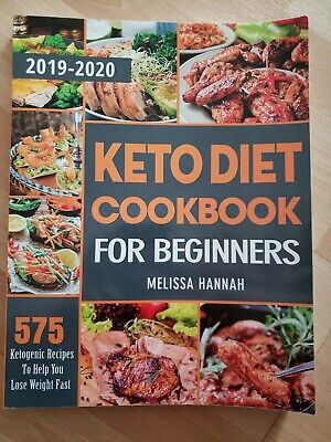 $8.99 • Buy Keto Diet Cookbook For Beginners 2019-2020 By Melissa Hannah (Paperback)