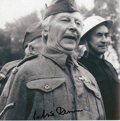 £99.99 • Buy CLIVE DUNN Signed 8x8 Photo DADS ARMY Corporal Jones COA