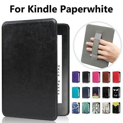 Magnetic Case Leather Handle Cover For Amazon Kindle Paperwhite 1/2/3/4 2018 New • 7.20£