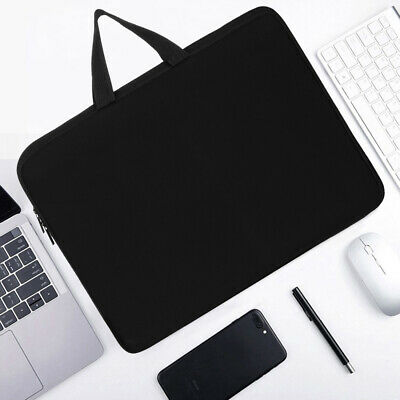 UK Laptop Sleeve Case Cover Bag For HP Dell Lenovo Notebook 11 13 15 17 Inch • 8.99£