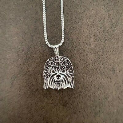 £12.95 • Buy Dandie Dinmont 18  Silver Necklace & Matching Earrings Free Gift Bag
