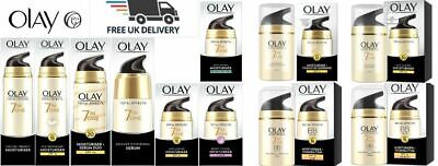 £11.99 • Buy Olay Total Effects 7inOne Moisturisers Or Serums 50,40&15 Ml. Brand New Sealed