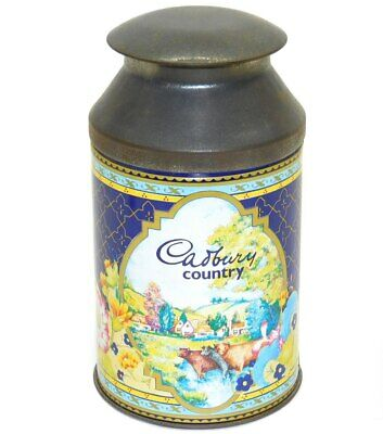 £14.95 • Buy Vintage Cadbury Country Miniature Milk Can Shaped Advertising Tin Canister