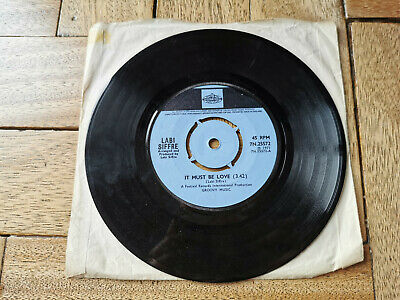Labi Siffre It Must Be Love 7  Vinyl Record Good Condition • 3.99£