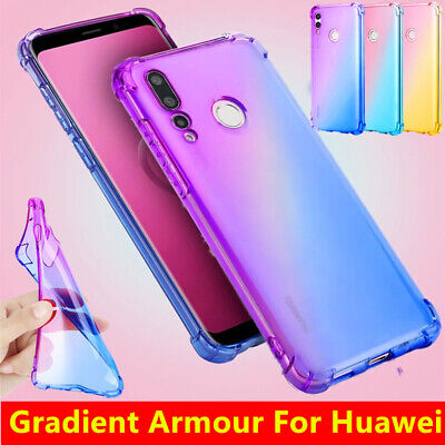 Case For Huawei P40 P30 Lite Pro Ultra Slim Shockproof TPU Silicone Hybrid Cover • 3.65£