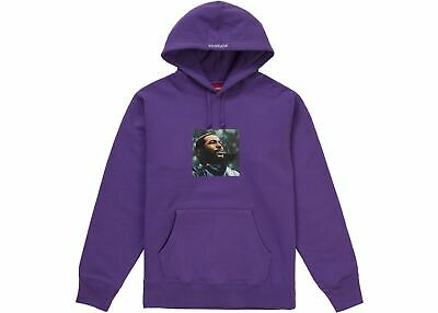 $ CDN248.72 • Buy Supreme Marvin Gaye Hoodie Size Large 100% AUTHENTIC & NEW Violet Prince Of Soul