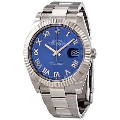 $ CDN14707.53 • Buy Rolex Oyster Perpetual Datejust Automatic Blue Dial Men's Watch 126334BLRO
