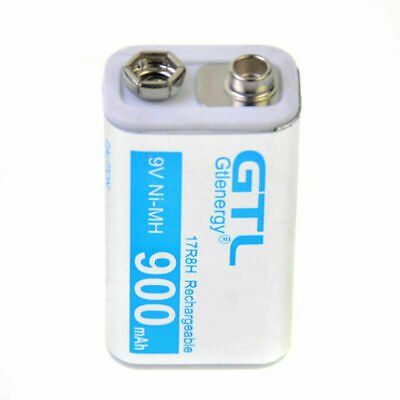 AU14.39 • Buy 1pcs Durable 9V 9 Volt 900mAh Power Ni-Mh Rechargeable Battery Cell PPS Block