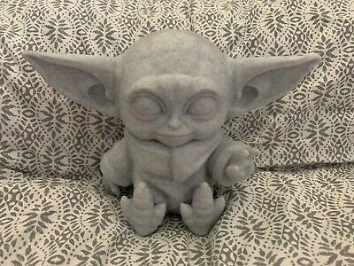 "$15 • Buy The Child Baby Yoda 3D Printed Figurine 5.5"" Tall. (139.7mm)"
