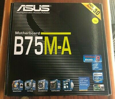 $ CDN158.53 • Buy ASUS B75M-A Computer Motherboard - New In Box