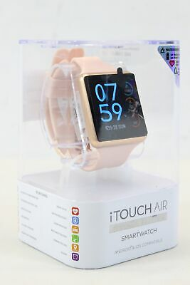 $ CDN63.63 • Buy NEW ITouch Air Special Edition Smartwatch IOS & Android 41mm - Rose Gold