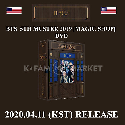 $69.99 • Buy Bts 5th Muster - Magic Shop (dvd Version) + Tracking From Usa - Free Gift