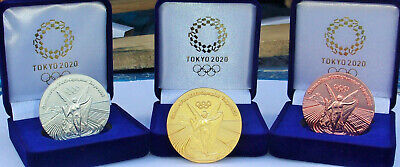 £39.85 • Buy 2020 Tokyo Japan Olympic Gold Silver & Bronze Commemorative Medallion Medal Coin
