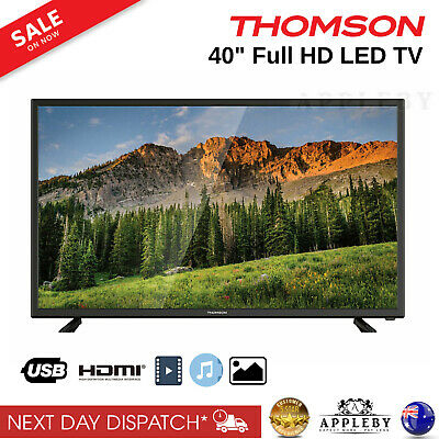 AU358.19 • Buy Thomson 40  Inch Screen Full HD LED TV 1080p Television HDMI USB Flat Panel