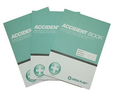 A4 First Aid Accident Book GDPR Compliant  50 Page Report Form RIDDOR HSE • 2.99£