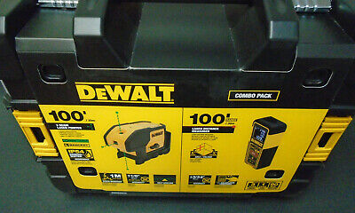 $279.99 • Buy NEW - DeWalt DW0839CG Green Beam 100-Foot Laser Level & Distance Measure
