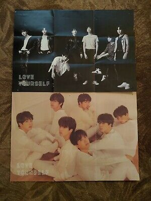 $8 • Buy 2 BTS Love Yourself Tear Folded Posters