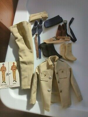 $ CDN141.01 • Buy Vintage Barbie Ken Doll Fashion Army Navy Complete Excellent