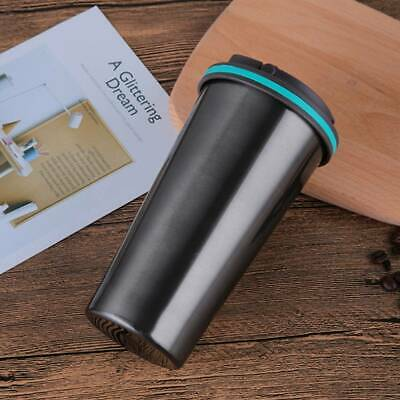 £7.19 • Buy 500ML Insulated Travel Coffee Mug Cup Thermal Vacuum Stainless Steel Flask