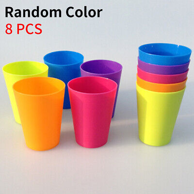 Plastic Drinking Cups Mugs Tumblers Children Kids Small BBQ Outdoor Picnic INZ • 5.40£