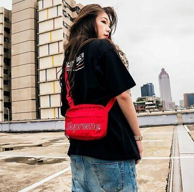 $ CDN243.72 • Buy Supreme Shoulder Bag Red Unisex 100% Authentic FW18 Winter 2018 Bag Travel