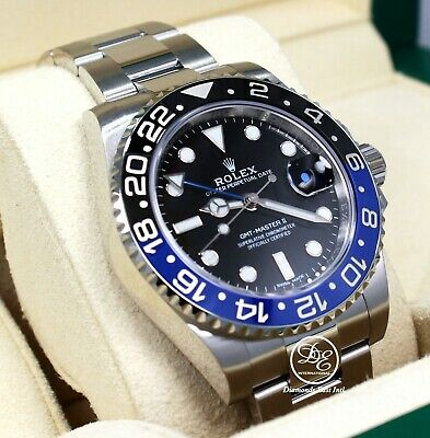 $ CDN22292.32 • Buy Rolex Gmt-Master II 116710 BLNR Batman 40mm SS Black /Blue Ceramic Bezel Unworn