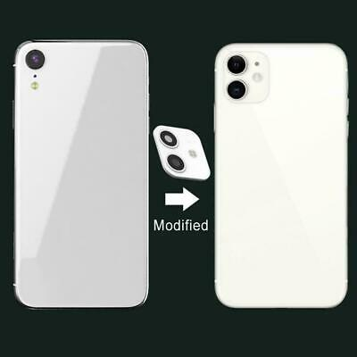 For IPhone XR Camera Sticker Lens Cover Change To Fake IPhone 11 Model T5J8 • 2.39£