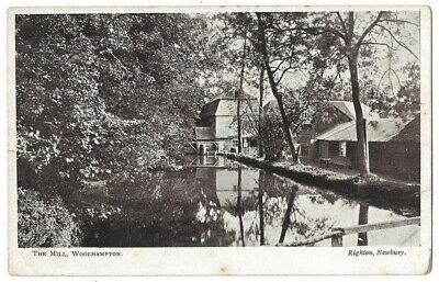 WOOLHAMPTON The Mill, Berkshire Postcard By Righton, Unused • 4.95£
