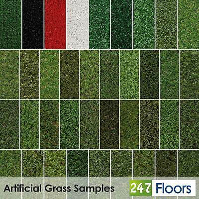 £0.99 • Buy Artificial Grass CHEAP Sample Fake Grass 2m 4m 5m Realistic Astro Turf 30mm 40mm