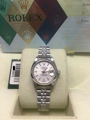 $ CDN4794.45 • Buy Rolex Ladies Date 79160 Silver Dial Stainless Steel Box Papers 2007