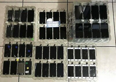 $ CDN405.87 • Buy Lot Of 10 New Oem Original Apple Iphone 6 Black Lcd Complete W/ Camera, And More